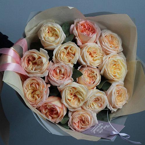 Букет из пионовидных роз Анджи