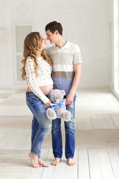 фотосессия беременных с мужем в москве