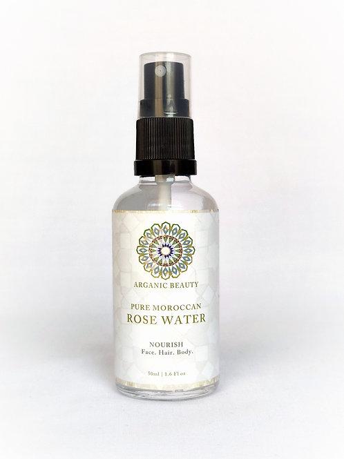 50 ml Organic rose water