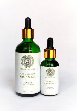 Argan oil twin pack -30 ml and 100 ml