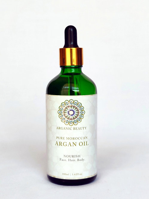 100 ml Organic cosmetic Argan oil