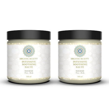 Intensive Soothing Salve Double Pack (2 x 100g jars)