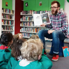 Weekly visit to Balham Library