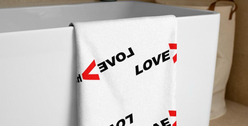 LOVE>hate Towel