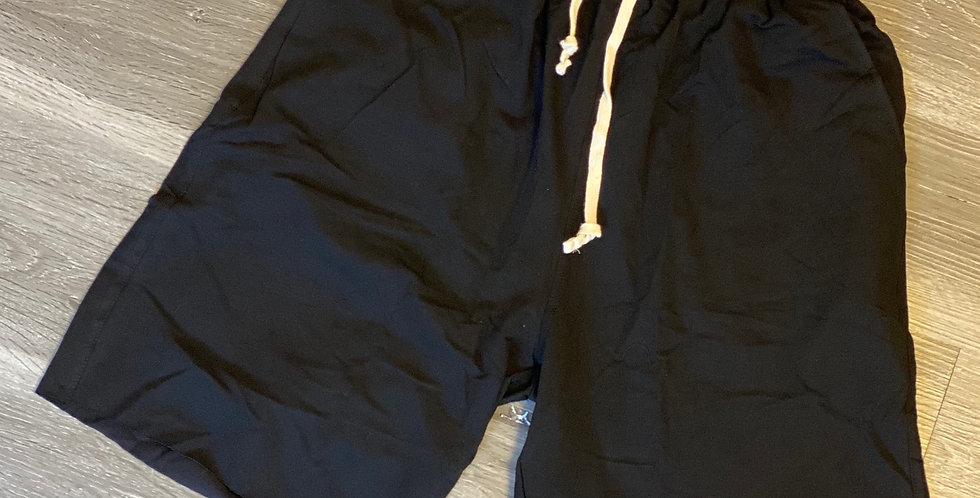 Relax Cotton Shorts Black
