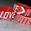 Thumbnail: Enlarge LOVE>hate Wristband