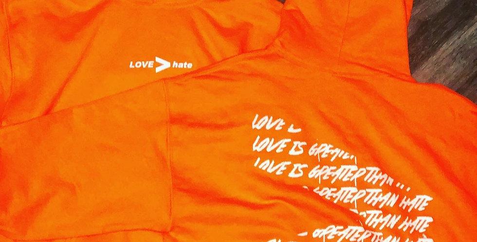 New Era Hoodie Orange