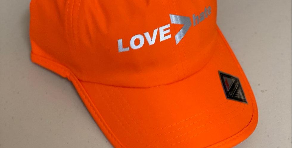 Athletic hat Orange Silver