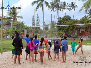 Atividades físicas para curtir o verão com saúde no Jardim Atlântico Beach Resort!
