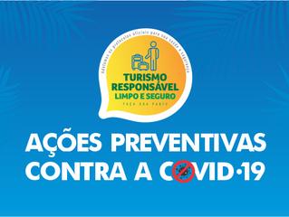 Ações preventivas contra a Covid-19