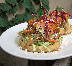 St. Augustine | sopes | Mexican appetizer
