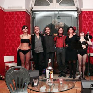 The Burlesque show@Marianiello Jazz cafe'
