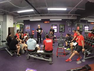 Shoulder Workshop at Anytime Fitness Sydney