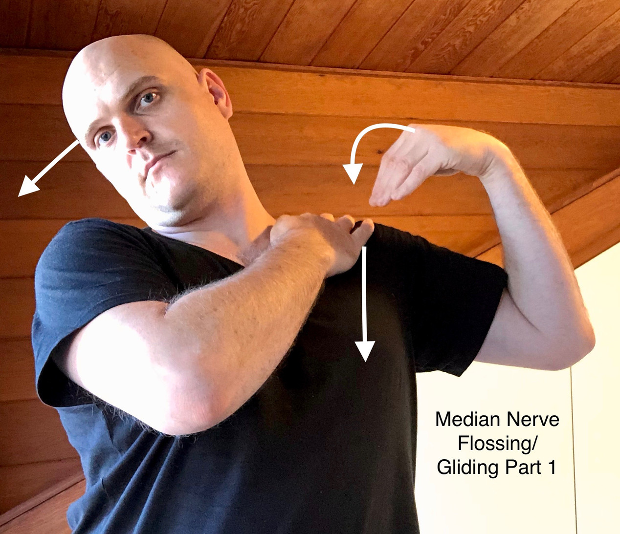 median nerve floss pt1