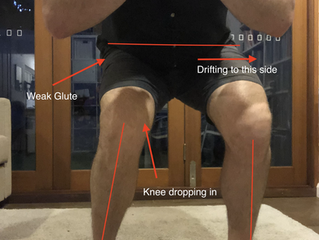 How to stop your knees dropping in when you squat