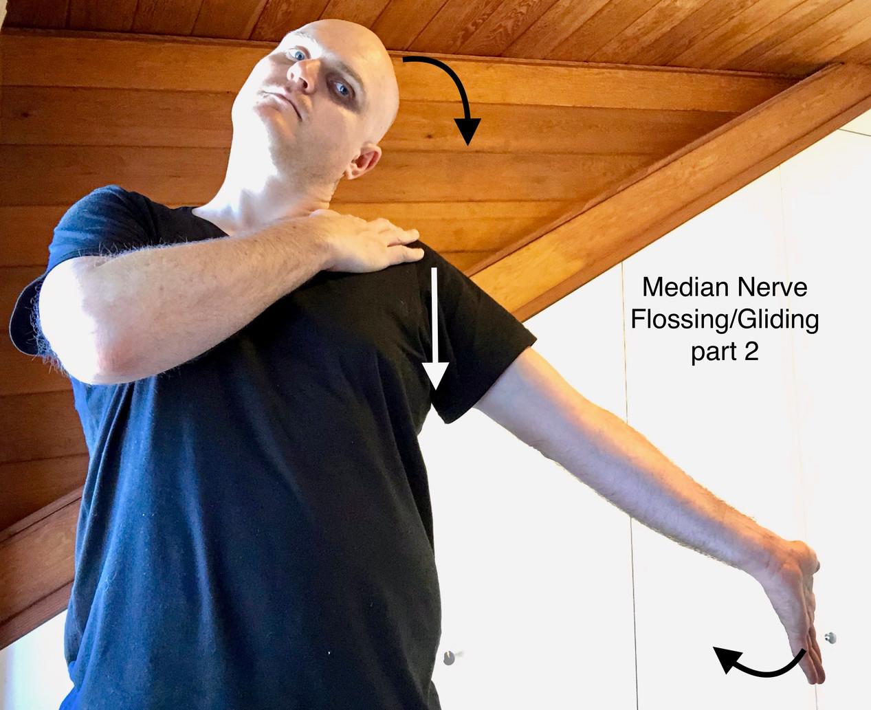 median nerve floss pt 2
