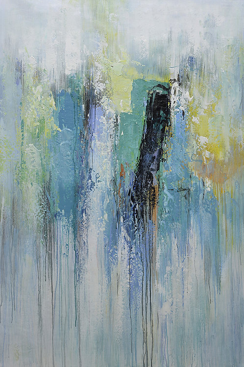 40x60 Large abstract oil painting on canvas 919100626