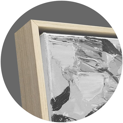 Floater frame of light wood (FD) in different standard size and custom sizes