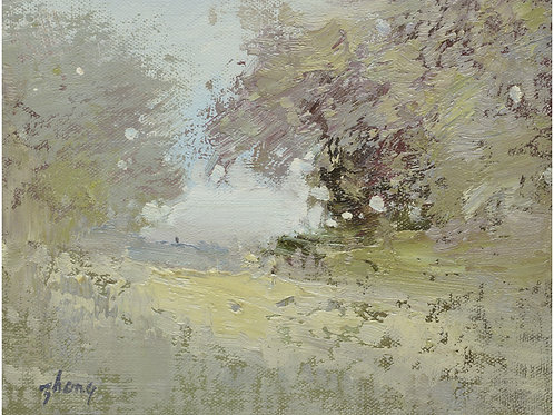 8x10  Modern oil painting of landscape 1182184