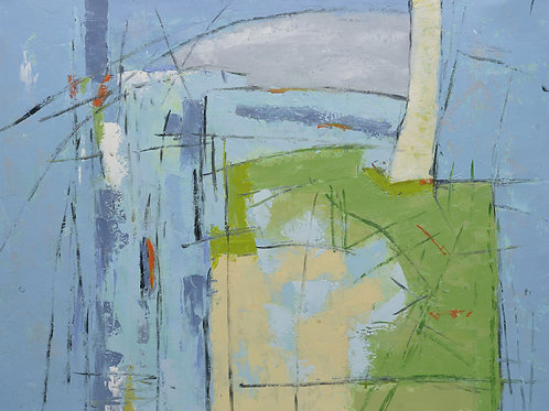 Studio art 36X48 large abstract oil painting S-81912506