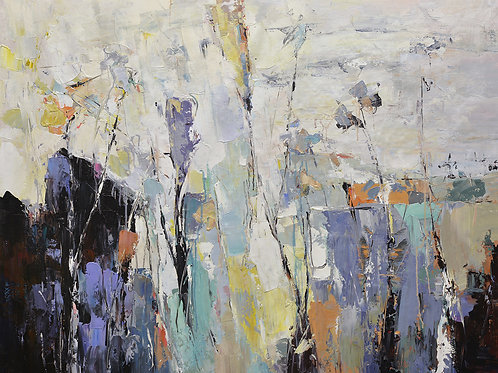 copy of 36x48 abstract oil painting on canvas 72071021
