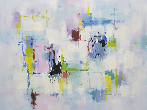 Studio art 36X48 large abstract oil painting S-71941012