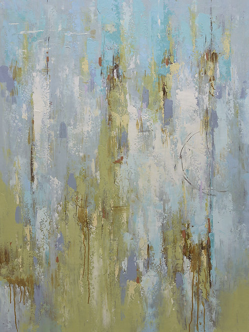 Studio art 36X48 large abstract oil painting S-81912602