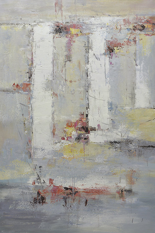 40x60 Large abstract oil painting on canvas 9195036