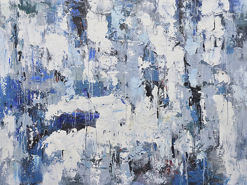 36x48 abstract oil painting on canvas 72071016