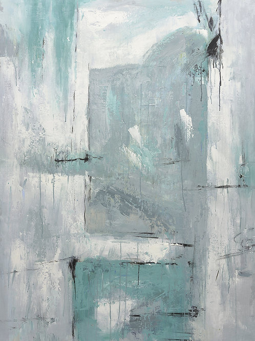 Studio art 36X48 large abstract oil painting S-81912503