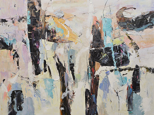 36x48 abstract oil painting on canvas 72071020