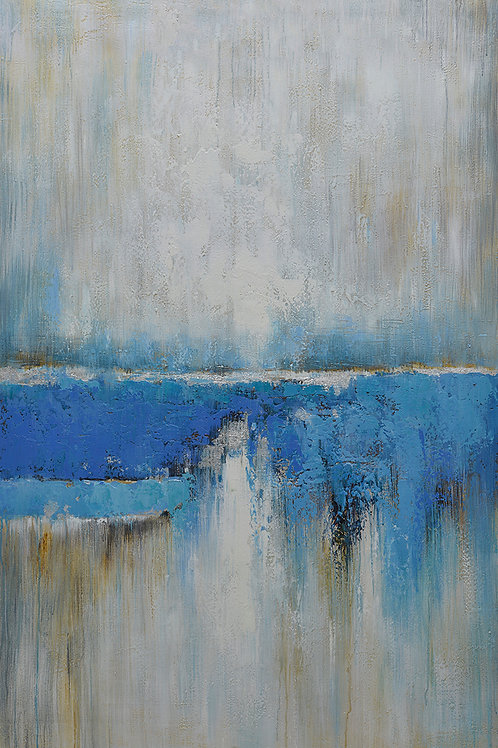 40x60 Large abstract oil painting on canvas 919100616