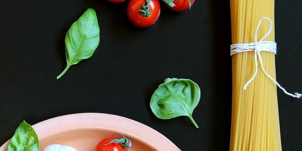 Apprends à cuisiner aux côtés d'un chef italien