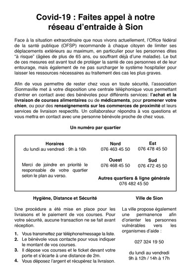 Flyers Covid-19