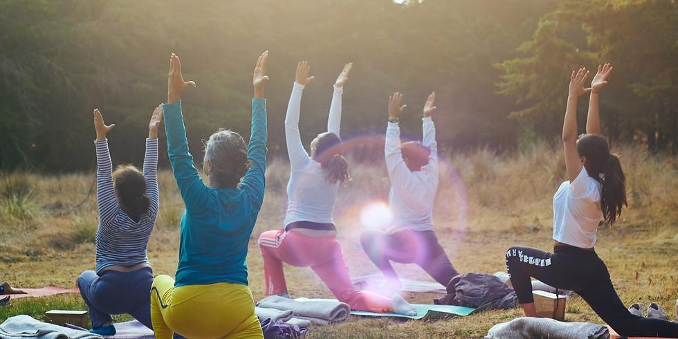 Yoga du dimanche avec Samantha