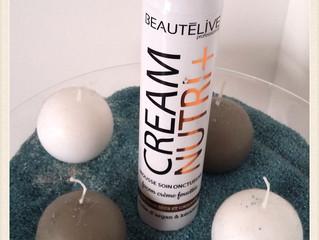 J'ai testé La mousse soin Cream Nutri + BeautéLive ! Merci Gouiran beauté !