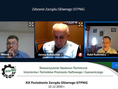 XIX posiedzenie Zarządu Głównego SITPNiG