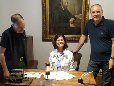 Denise Cox- prezydent AAPG w Bóbrce