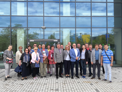 Oddział SITPNiG w Krakowie zwiedzał Nowy Szpital Uniwersytecki w Krakowie Prokocimiu