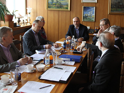 Posiedzenie Komisji ds.Odznak i Tytułów Honorowych ZG SITPNiG