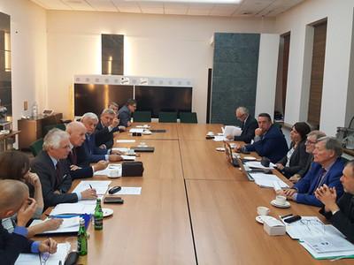 Posiedzenie Zarządu Głównego SITPNiG 7.11.2019