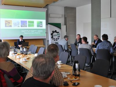 Seminarium branżowe Oddziału w Krakowie w Instytucie Nafty i Gazu - Państwowym Instytucie Badawczym