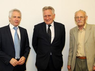 Robocza wizyta przedstawicieli ZG SITPNiG u Piotra Woźniaka - prezesa Zarządu PGNiG S.A.