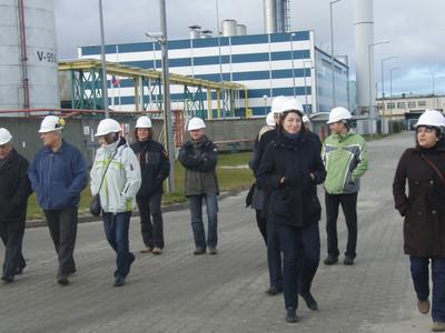 Wycieczka techniczna do Jastarni i Władysławowa - listopad 2010