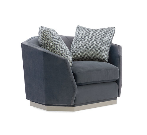 EXPRESSIONS SWIVEL CHAIR & 1/2