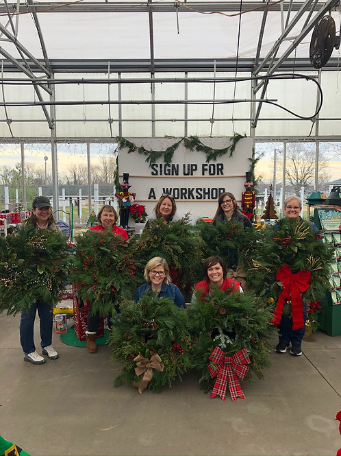 Wreaths with Wine