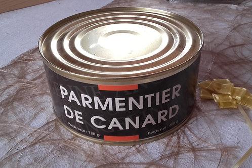 PARMENTIER DE CANARD  600g