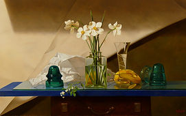 Poet Daffodils with Isolators, 20%22x32%