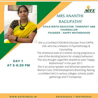 Parenting Conference organised by ACFE