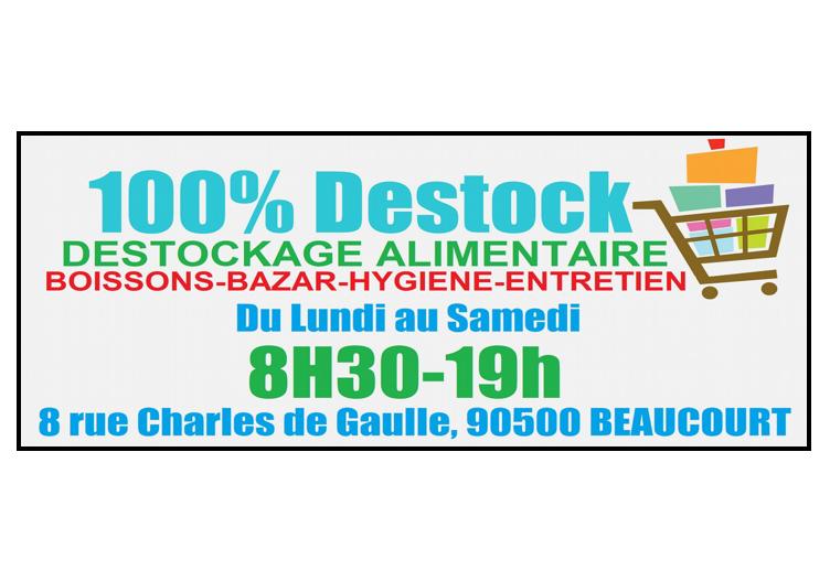 100% Destock